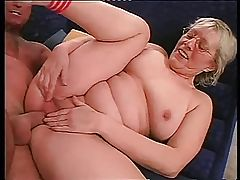 Granny in Glasses Loves to Fuck