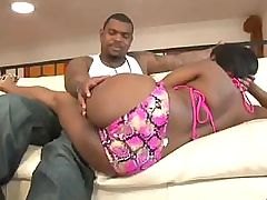 Wonderful slut Jenaveve Jolie plays with monstrous black cock