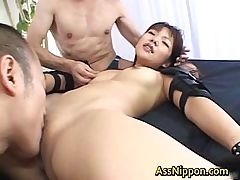 Double Penetration Creampie part4