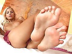 Footjob porn videos