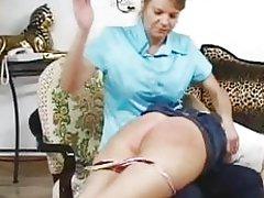 Naughty girls need a spanking