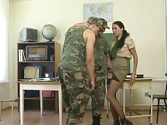 Uniform porn videos