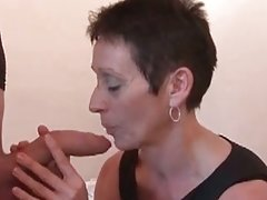 Mature fucks in french porn