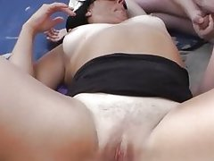 Creampie Gangbang at the Beach