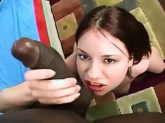 hot young teen enjoys a bbc