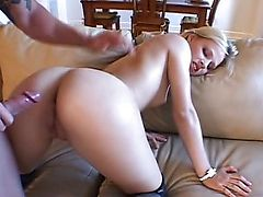 Blonde Mary Anne fucked in the ass