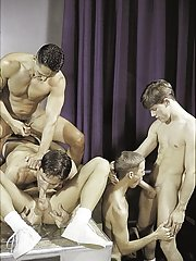 Vince Bandero::Cameron Fox::Nick Steel::Jeremy Jordan::Travis Wade in Gay XXX Pictures
