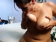 Chubby sister nipple lick and paly