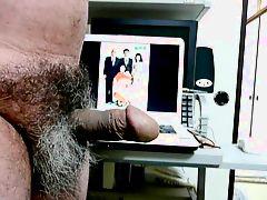 Japanese old man Erection to see Kayoko