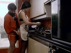 The Wife Washes A Dishes With A Dick in The Ass