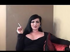 Watch milf smoke. JOI