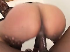 By squirting ass and pussy