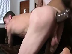 Monster Black Cock Stretching White Ass