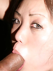 Dick Guzzling Asian