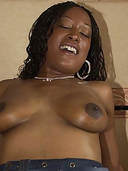 Bedroom Banged Black Babe