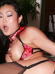 Naughty Asian Striptease