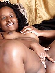 Finger Fucking Ebony