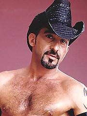 Dick Buffing Gay Cowboy