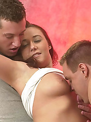 Cum Drenched Bisexual Threesome
