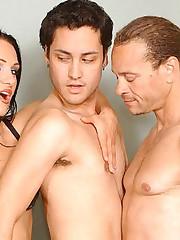 Victoria Bisexual Cock Cramming