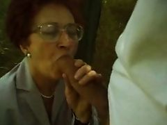 Granny First Big Dick